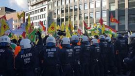 Almanya'da skandal görüntüler...