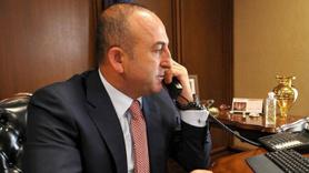 Bakan Çavuşoğlu'ndan kritik Afrin görüşmesi