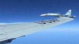 Karadeniz'de sıcak dakikalar... Rus ve ABD uçakları arasında gerilim