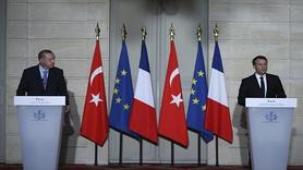 """Erdoğan, Paris'te Fransız gazeteciye: """" FETÖ ağzıyla konuşuyorsun"""""""