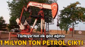 Türkiye'nin ilk petrol kuyusundan 70 yılda 1 milyon ton petrol çıkarıl
