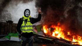 Fransa'daki gösterilerin bilançosu: 4 bin 99 gözaltı