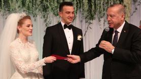 Erdoğan Nihat Zeybekci'nin oğlunun nikah şahidi. oldu