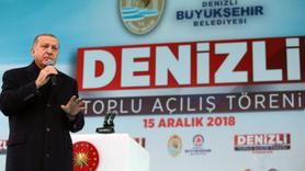 Erdoğan: Teröristlere açtıkları çukurları mezar yaptık