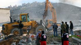 İsrail önce şehit etti sonra evini yıktı