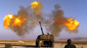 Afrin'deki terör örgütü hedefleri havadan ve karadan vuruldu