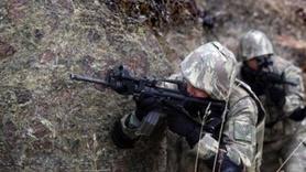 Ağrı'da PKK'lı teröristlerle çatışma: 1 asker şehit