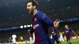 Messi şov yaptı Barcelona rekor kırarak turladı