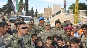 2. Ordu Komutanı Temel Afrin'deki birlikleri denetledi