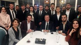Mansur Yavaş, CHP ve İYİ Parti'nin Ankara Gençlik Kolları üyeleriyle b