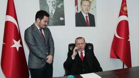 Başkan Erdoğan'dan doktor gence jest