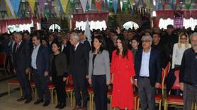 HDP'nin aday tanıtım toplantısında PKK marşı skandalı!