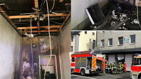 Almanya'da alçak saldırı! Camiyi kundakladılar