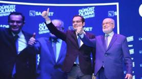 Saadet Partili adaydan Ekrem İmamoğlu'na bağış