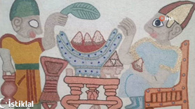 3 bin yıllık duvar kabartmasında çiğ köfte ve marul çıktı