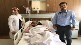 Hastaneye göğüs ağrısıyla gitti, kalbinde 12 santim kist çıktı