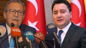 AK Partili eski başkan Babacan'a desteğini açıkladı