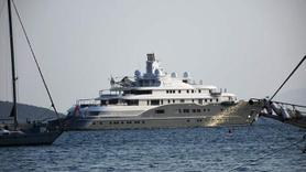 Dubai Şeyhinin lüks yatı Bodrum'da... İçinde yok yok