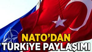 NATO'dan Türkiye'ye destek paylaşımı: Türkiye NATO'dur