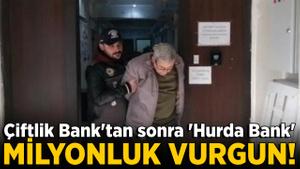 Çiftlik Bank'tan sonra şimdi de 'Hurda Bank'