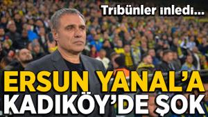 Kadıköy'de Ersun Yanal'a şok tezahürat!