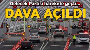 Gelecek Partisi'nden Avrasya Tüneli hamlesi