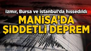 Akhisar'da 4,8'lik deprem