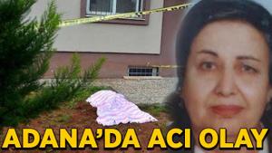 Adana'da acı olay