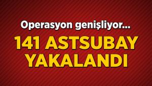 54 il ve KKTC'de FETÖ operasyonu: 141 astsubay yakalandı