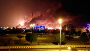 Suudi Arabistan'a drone saldırısı: Peş peşe patlamalar...