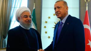 İran Cumhurbaşkanı Ruhani Çankaya'da
