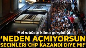 Klima kavgası: Neden açmıyorsun, seçimleri CHP kazandı diye mi!