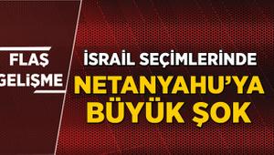 İsrail seçimlerinde Netanyahu'ya şok
