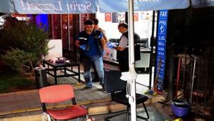 Malatya'da kafede oturanlara otomobilden ateş açıldı