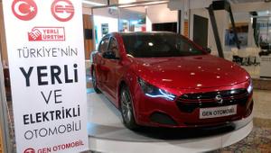 İkitelli'de üretilen yerli elektrikli otomobil büyük ilgi gördü