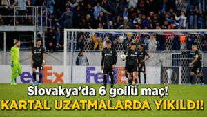 Tam 6 gollü maç! Beşiktaş uzatmalarda yıkıldı!
