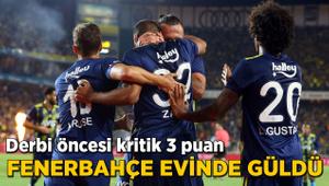 Kabustan zafere! Fenerbahçe evinde güldü