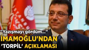 İBB Başkanı Ekrem İmamoğlu'ndan 'torpil' açıklaması