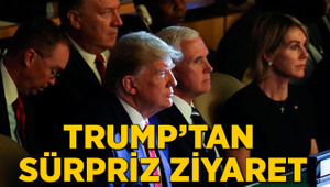 Trump'tan 'beklenmedik ziyaret'
