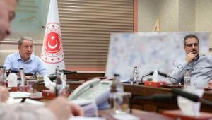 Karargahta harekat toplantısı: MİT Başkanı Hakan Fidan'da toplantıda