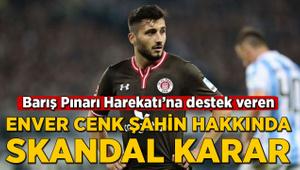 Barış Pınarı'na destek veren Enver Cenk Şahin hakkında skandal karar