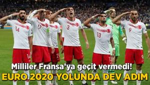 EURO 2020 yolunda dev adım Milliler Fransa'ya geçit vermedi!
