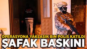 Bursa'da şafak operasyonu: Bin polis katıldı!