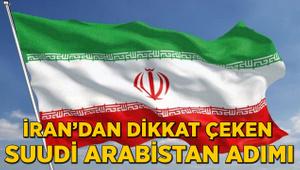 İran'dan dikkat çeken Suudi Arabistan adımı