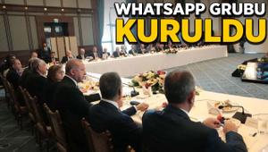 Belediye Başkanları WhatsApp grubu kuruldu