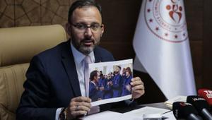 Bakan Kasapoğlu'ndan UEFA'ya çağrı