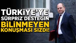 Türkiye'ye sürpriz desteğin bilinmeyen konuşması sızdı