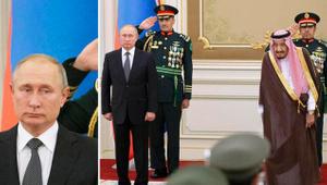 Suudi Arabistan'da Putin'e şok: Duyunca yüzü düştü