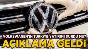 Volkswagen'in Türkiye iddialarına yanıt geldi: Yatırım durmadı