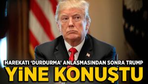 Trump'tan skandal Türkiye ve YPG açıklaması